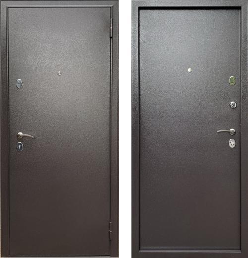 входные двери (стальные двери, металлические двери) DOORS007: дверь Бульдорс ECONOM  STEEL