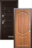 Стальная дверь Бульдорс MASS 90 Ларче шоколад 9S-108