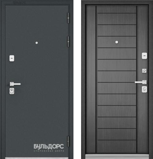 входные двери (стальные двери, металлические двери) DOORS007: дверь Бульдорс PREMIUM 90 Чёрный шелк, Цвет