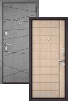 Стальная дверь Бульдорс STANDART 90 Штукатурка серая 9S-130