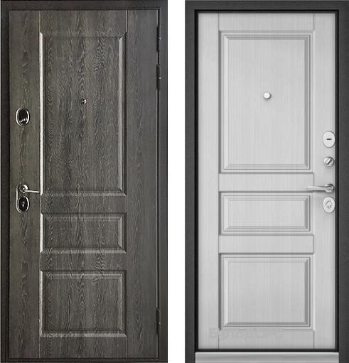 входные двери (стальные двери, металлические двери) DOORS007: дверь Бульдорс STANDART 90 Дуб графит 9SD-2, Цвет