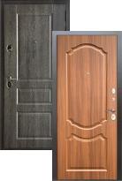 Входная дверь Бульдорс STANDART 90 Дуб графит 9SD-2