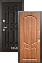Входная дверь Бульдорс STANDART 90 Дуб шоколад 9S-111