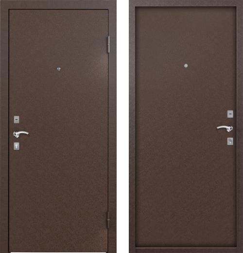 входные двери (стальные двери, металлические двери) DOORS007: дверь Бульдорс STARTER Steel-2