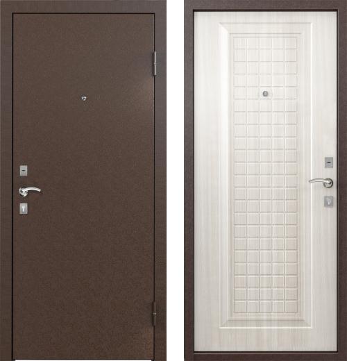 входные двери (стальные двери, металлические двери) DOORS007: дверь Бульдорс STARTER X СКИН