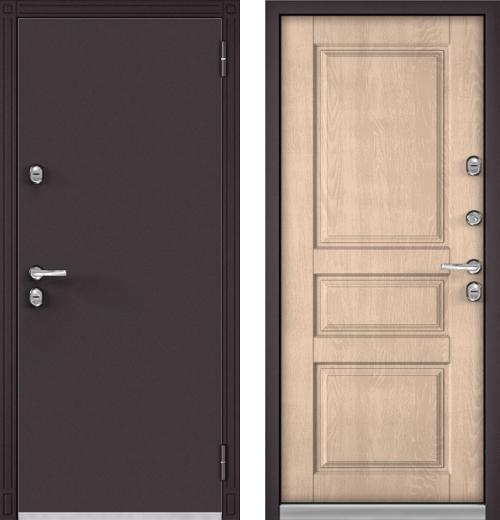 входные двери (стальные двери, металлические двери) DOORS007: дверь Бульдорс Термо 100, Цвет