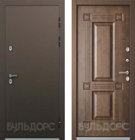 входные двери (стальные двери, металлические двери) DOORS007: дверь Бульдорс Термо 2