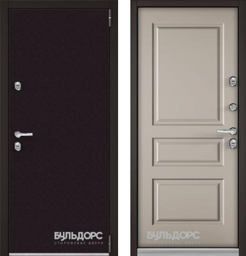 входные двери (стальные двери, металлические двери) DOORS007: дверь Бульдорс Термо 3