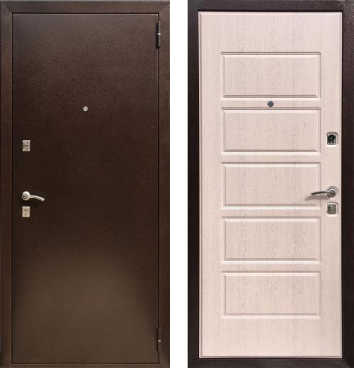 входные двери (стальные двери, металлические двери) DOORS007: дверь Zetta Экстра 2 (Оптима 2), Цвет