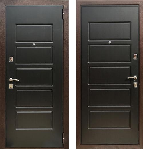 входные двери (стальные двери, металлические двери) DOORS007: дверь Zetta Экстра 3 (Оптима 3), Цвет