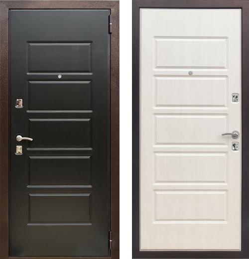 входные двери (стальные двери, металлические двери) DOORS007: дверь Zetta Оптима 3 Д7, Цвет