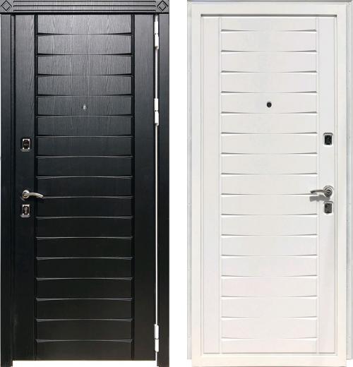 входные двери (стальные двери, металлические двери) DOORS007: дверь Zetta Экстра 3Д1 Софт