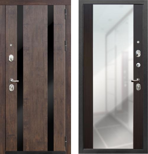 входные двери (стальные двери, металлические двери) DOORS007: дверь Zetta Премьер 100
