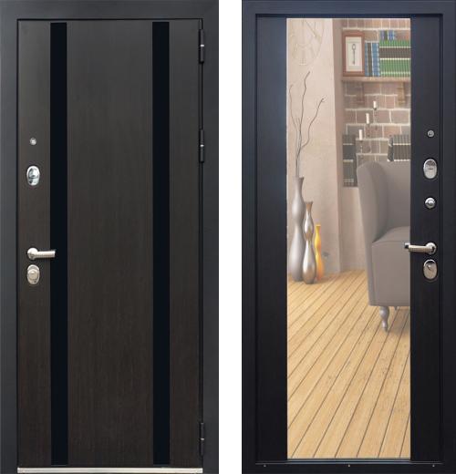 входные двери (стальные двери, металлические двери) DOORS007: дверь Zetta Премьер 100 KБ1