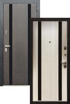 дверь Zetta Премьер 100 K2 МЕТРО Сатин венге / Лиственница бежевая (металлическая дверь Zetta Премьер 100 K2 МЕТРО Сатин венге / Лиственница бежевая, железная дверь)