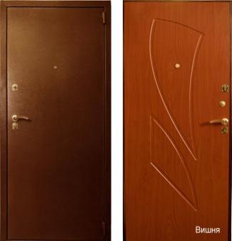 входные двери (стальные двери, металлические двери) DOORS007: дверь Лекс 1, Цвет