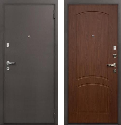 входные двери (стальные двери, металлические двери) DOORS007: дверь Лекс 1А
