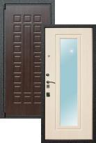 Входная дверь Лекс 4A с зеркалом