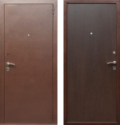 входные двери (стальные двери, металлические двери) DOORS007: дверь Лекс Эконом, Цвет