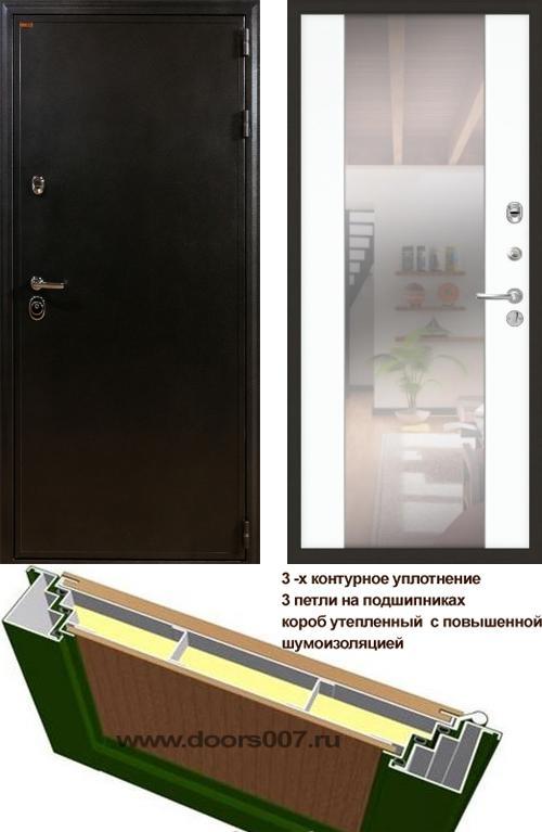 входные двери (стальные двери, металлические двери) DOORS007: дверь Лекс Колизей 61