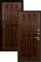 Входная дверь Лекс Гладиатор 3К Винорит (стальная дверь, металлическая дверь)