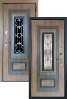 Стальная дверь Лекс Термо Русь (входная металлическая дверь)