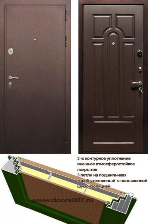 входные двери (стальные двери, металлические двери) DOORS007: дверь Лекс 5А, Цвет