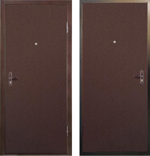 входные двери (стальные двери, металлические двери) DOORS007: дверь Лекс Сказка
