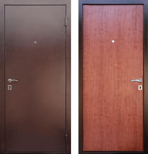входные двери (стальные двери, металлические двери) DOORS007: дверь Лекс Супер Эконом, Цвет