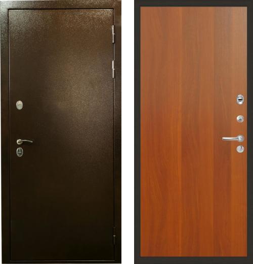 входные двери (стальные двери, металлические двери) DOORS007: дверь Лекс Термо Сибирь 3К 03