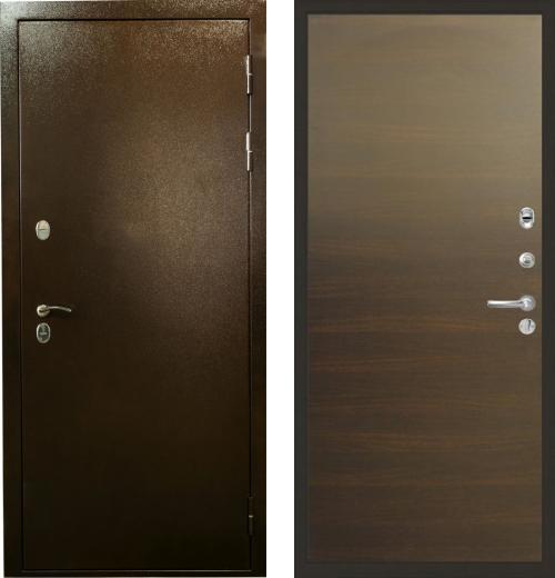 входные двери (стальные двери, металлические двери) DOORS007: дверь Лекс Термо Сибирь 3К 02
