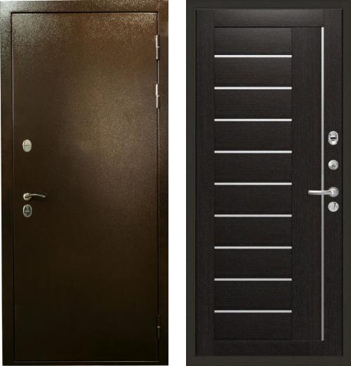 входные двери (стальные двери, металлические двери) DOORS007: дверь Лекс Термо Сибирь 3К 39