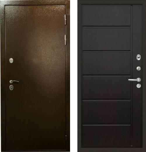 входные двери (стальные двери, металлические двери) DOORS007: дверь Лекс Термо Сибирь 3К 41