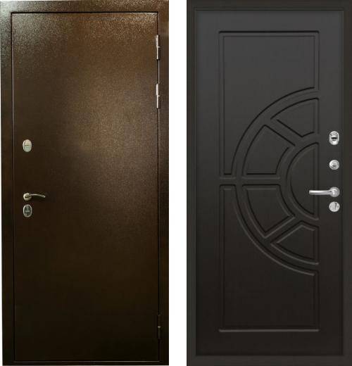 входные двери (стальные двери, металлические двери) DOORS007: дверь Лекс Термо Сибирь 3К 43