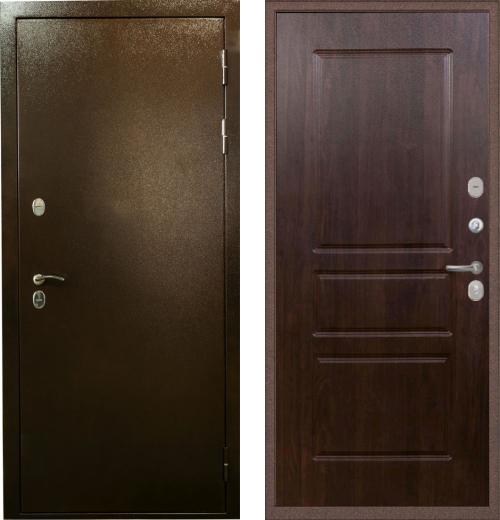 входные двери (стальные двери, металлические двери) DOORS007: дверь Лекс Термо