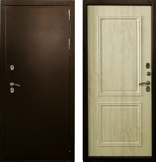 входные двери (стальные двери, металлические двери) DOORS007: дверь Лекс Термо Стандарт