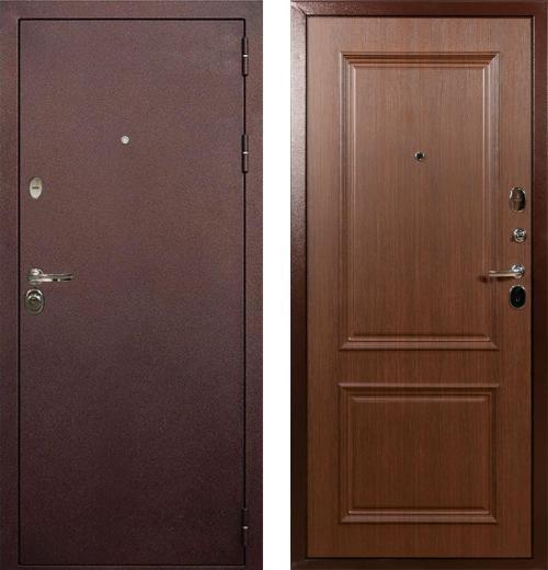 входные двери (стальные двери, металлические двери) DOORS007: дверь Лекс Титан
