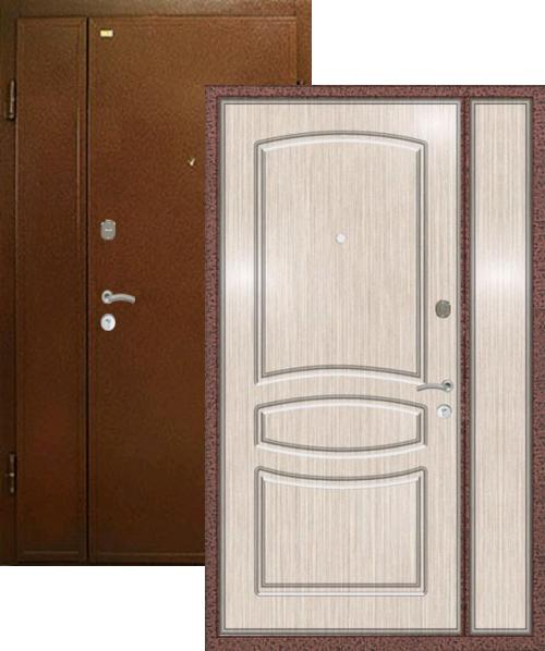 входные двери (стальные двери, металлические двери) DOORS007: дверь Распродажа Ле-Гран Двустворчатая