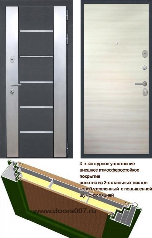 входные двери (стальные двери, металлические двери) DOORS007: дверь Распродажа Интекрон Вельс 2