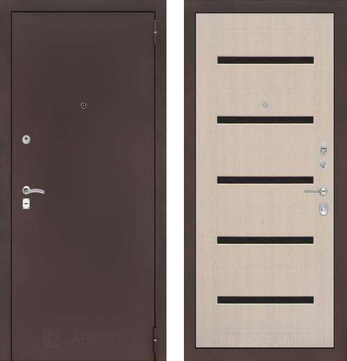 входные двери (стальные двери, металлические двери) DOORS007: дверь Распродажа Labirint Classic 01