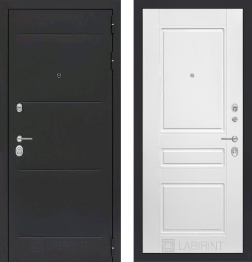 входные двери (стальные двери, металлические двери) DOORS007: дверь Распродажа Labirint Loft 03