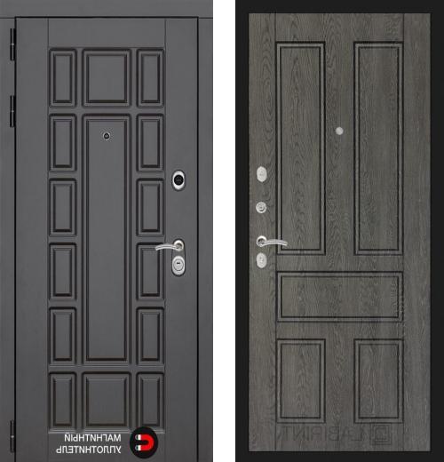 входные двери (стальные двери, металлические двери) DOORS007: дверь Распродажа Labirint New York 10, 88 L