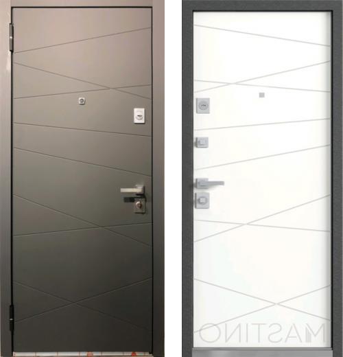 входные двери (стальные двери, металлические двери) DOORS007: дверь Распродажа Mastino Monte MS-12