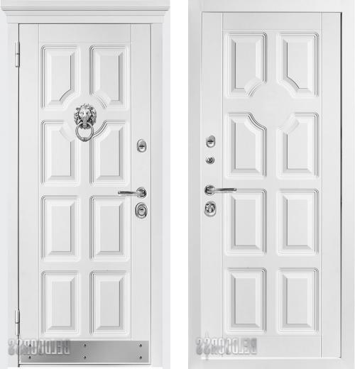 входные двери (стальные двери, металлические двери) DOORS007: дверь Распродажа Металюкс Статус М707 87 L