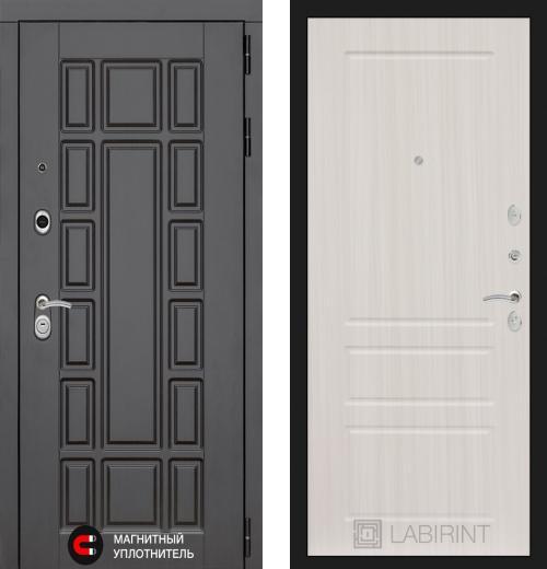 входные двери (стальные двери, металлические двери) DOORS007: дверь Распродажа Labirint New York 03