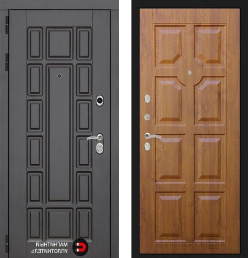 входные двери (стальные двери, металлические двери) DOORS007: дверь Распродажа New York 17