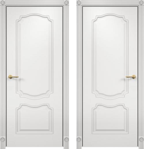 входные двери (стальные двери, металлические двери) DOORS007: дверь Распродажа Межкомнатная дверь Оникс Венеция Фрезерованная