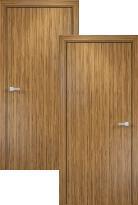 Распродажа Межкомнатная дверь Оникс Шпонированное гладкое полотно (600x1900мм)