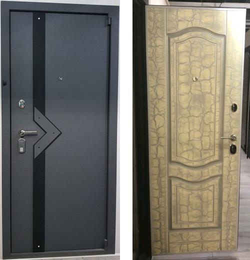 входные двери (стальные двери, металлические двери) DOORS007: дверь Распродажа Стальной портье ДБ29 CISA + Mottura