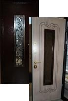 дверь Распродажа Стальной портье Ковка 88 L (металлическая дверь Распродажа Стальной портье Ковка 88 L, железная дверь)